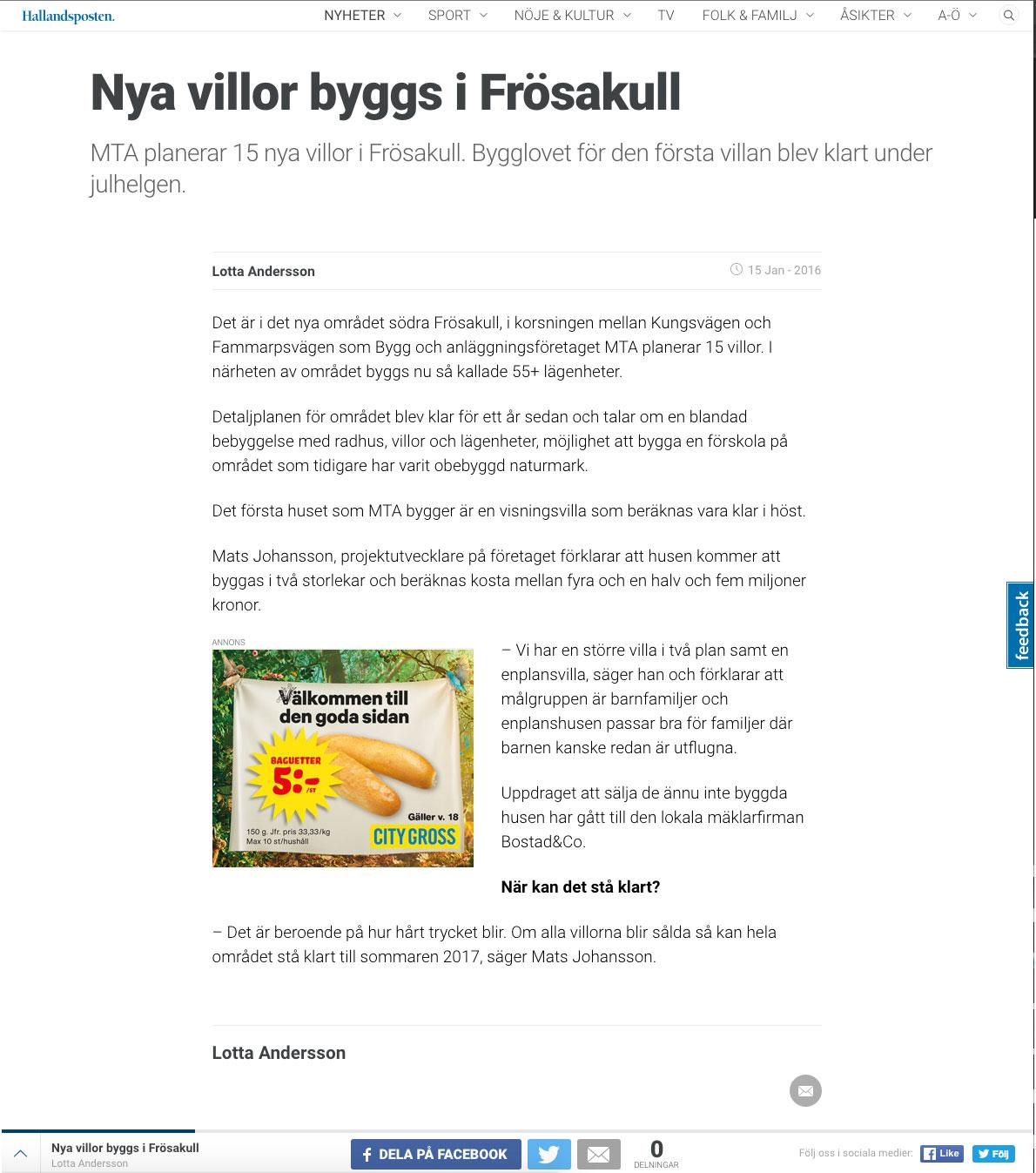 Hallandsposten: 2019-10-25 - PressReader