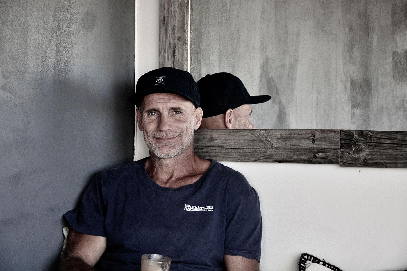 Peter Gereny på Söderpiren i halmstad porträtt