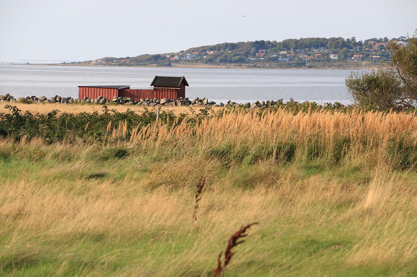 Hus vid havet i Villhärad