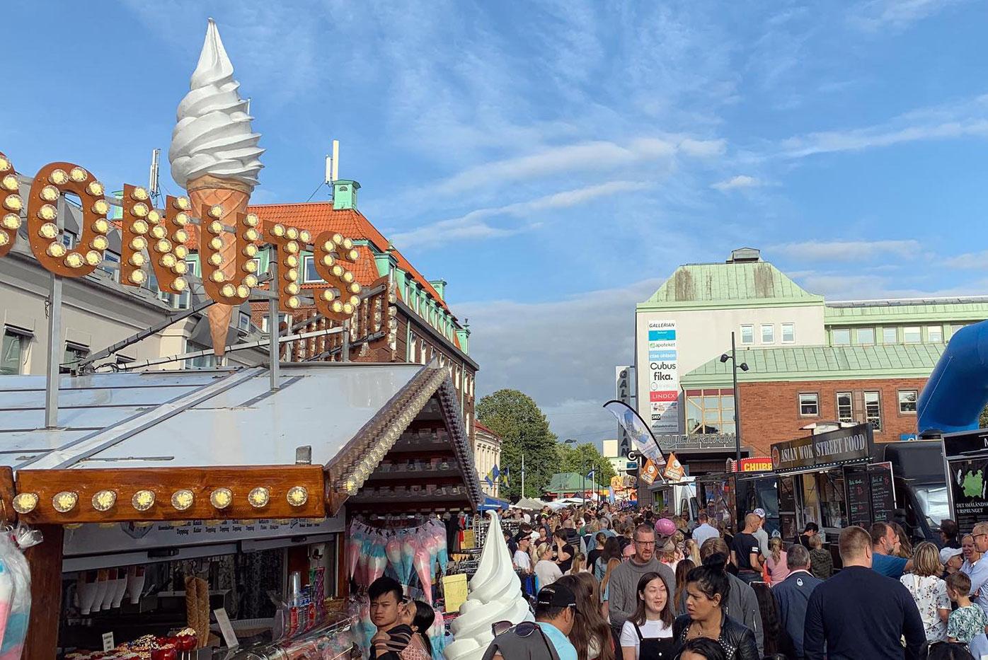 Stadsfest i Halmstad