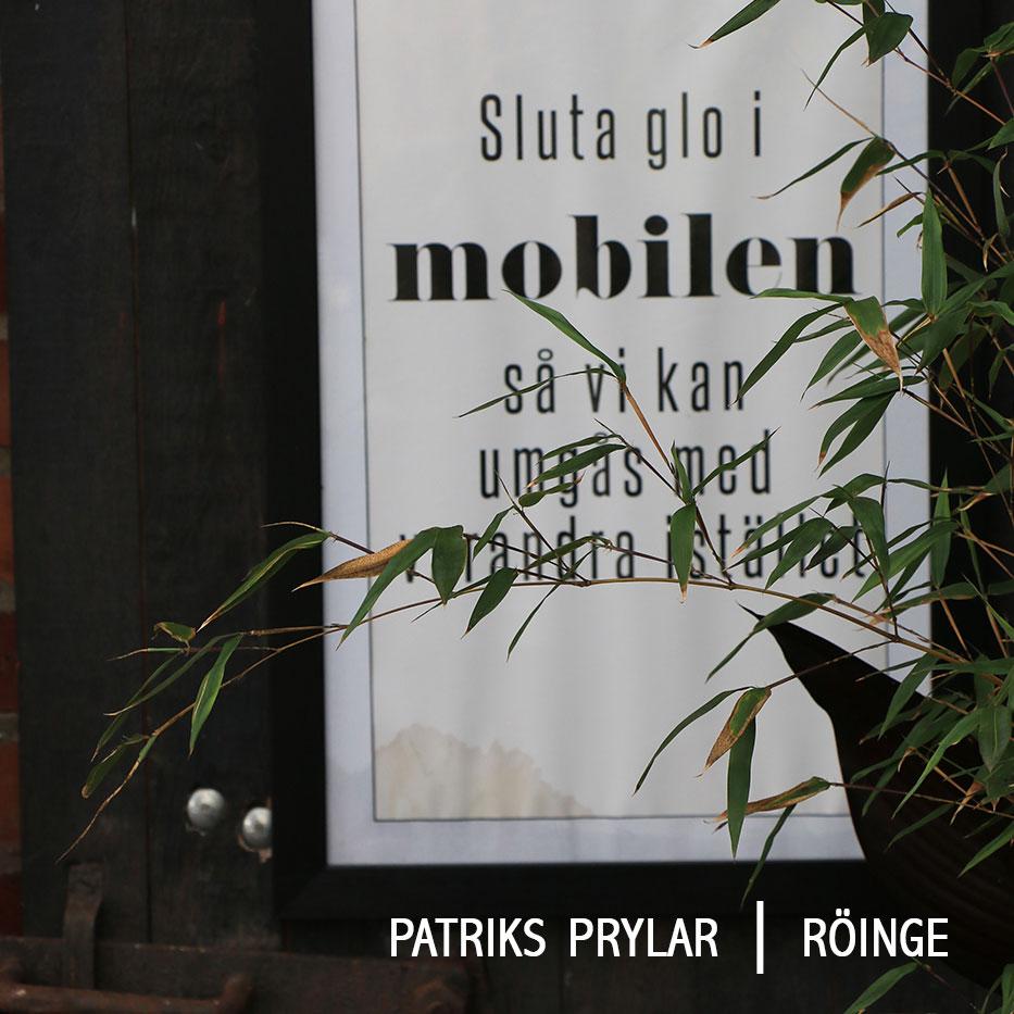 Patriks prylar poster smultronställen i Halmstad