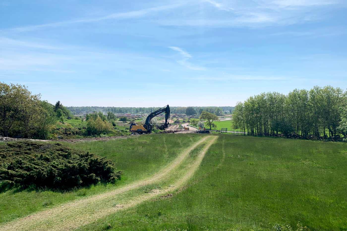 byggnation på ranagård
